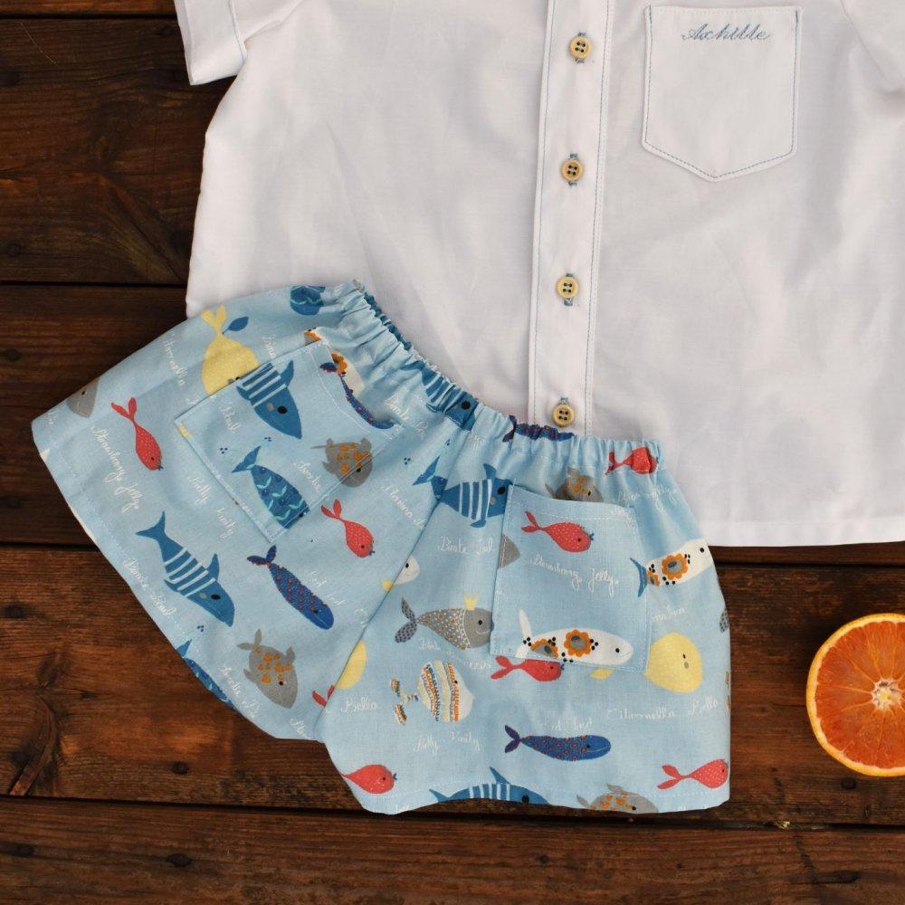Pantaloncini estivi da bambino