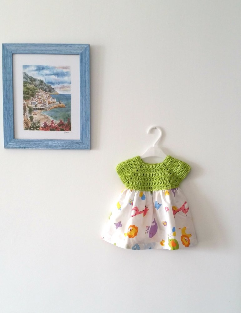 Abito neonata primi mesi
