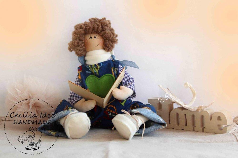 Bamboloto con libro