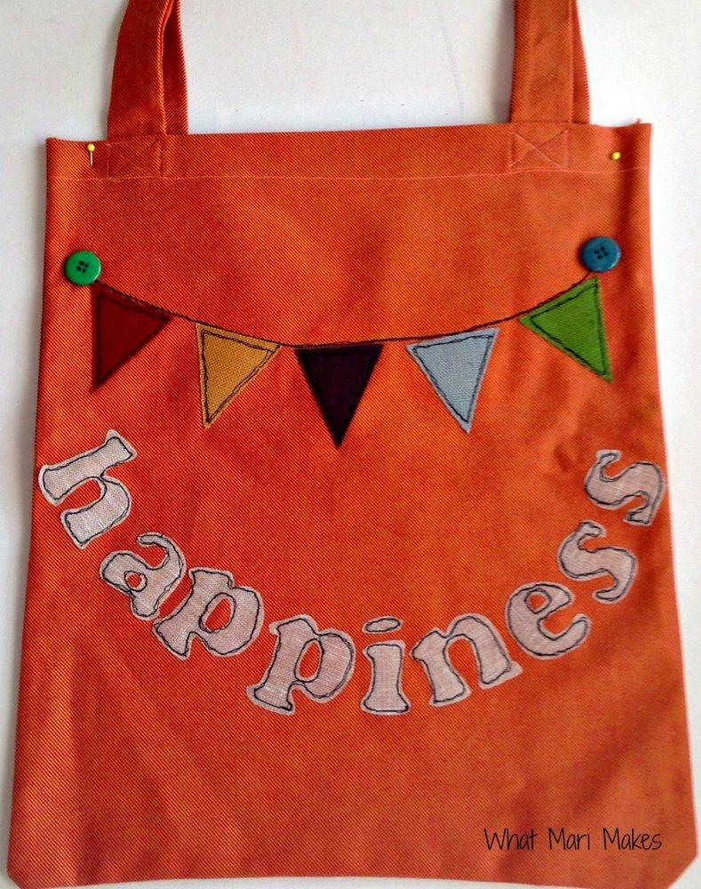 Shopper colorata e festosa per neo mamme
