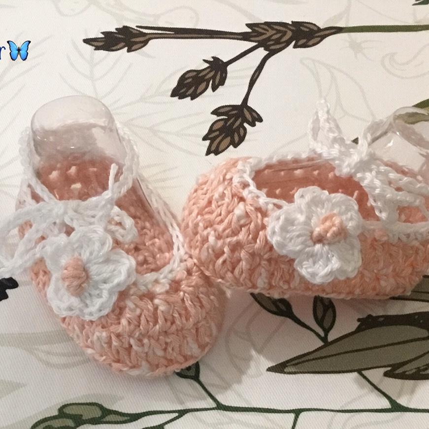Scarpette   ballerina crochet
