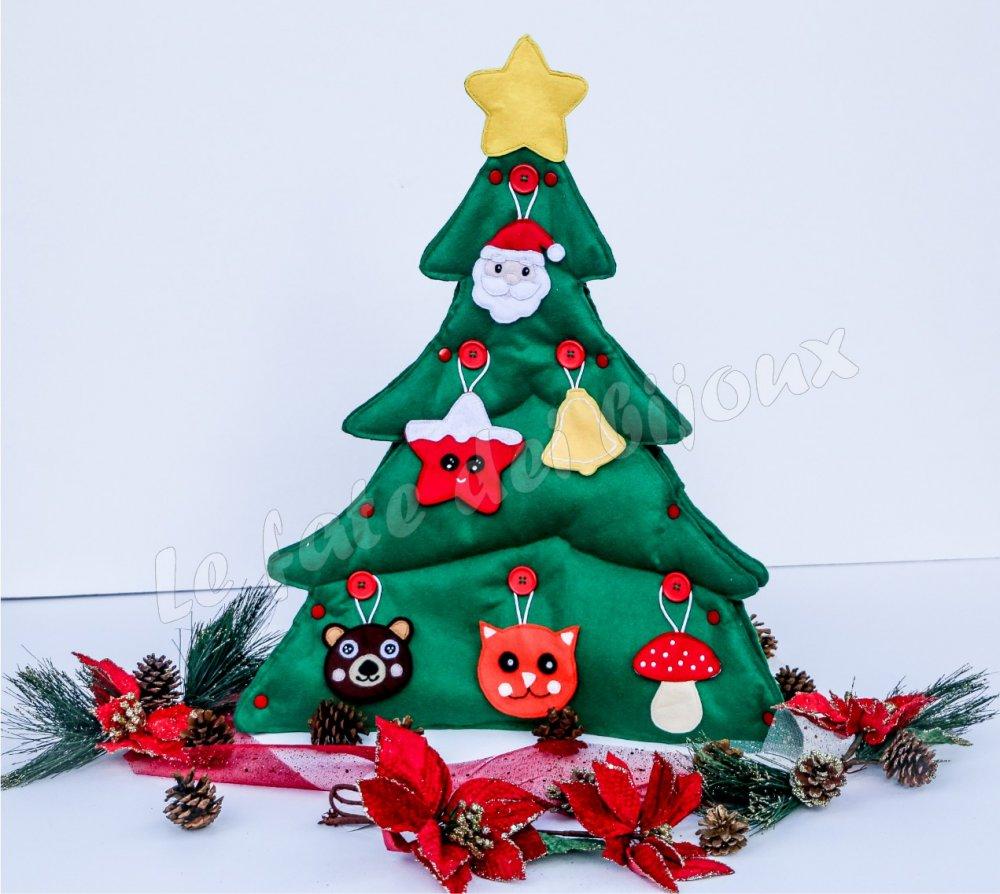 Albero Di Natale X Bambini.Albero Di Natale Montessoriano Per Bambini