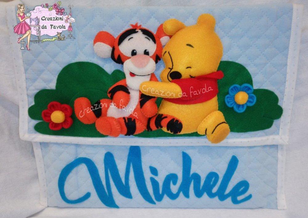 Sacca primo cambio Winnie the pooh