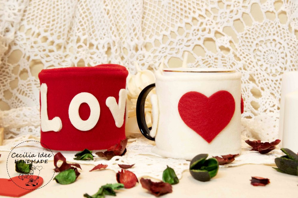 copri tazza san valentino