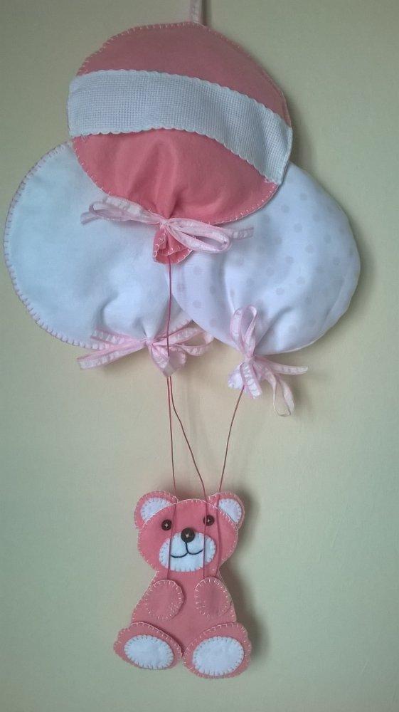 Fiocco nascita orsetto
