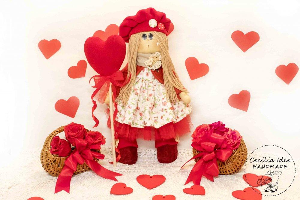 Giulietta bambola con cuore