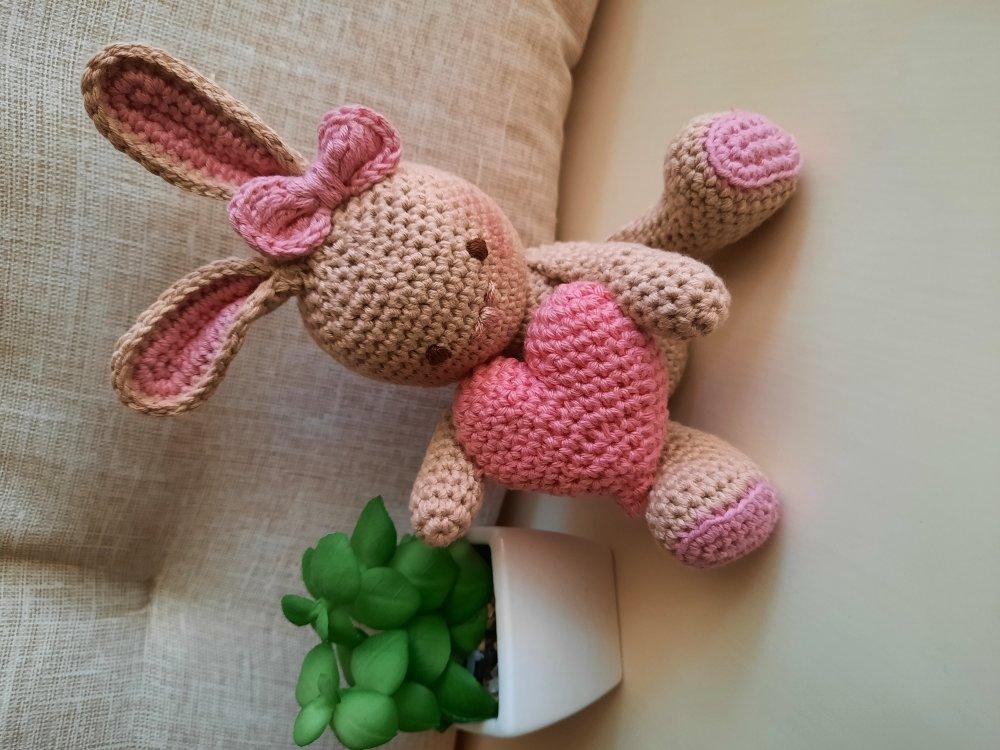 Coniglietto con cuore