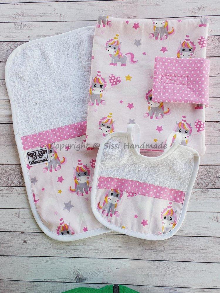 Porta pannolini e salviette da borsa + set allattamento