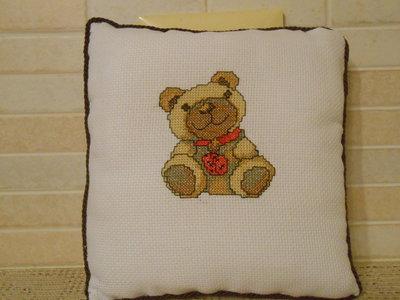 Cuscinetto con orso