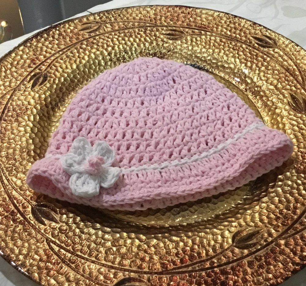 Cappellino in  COTONE   bambina