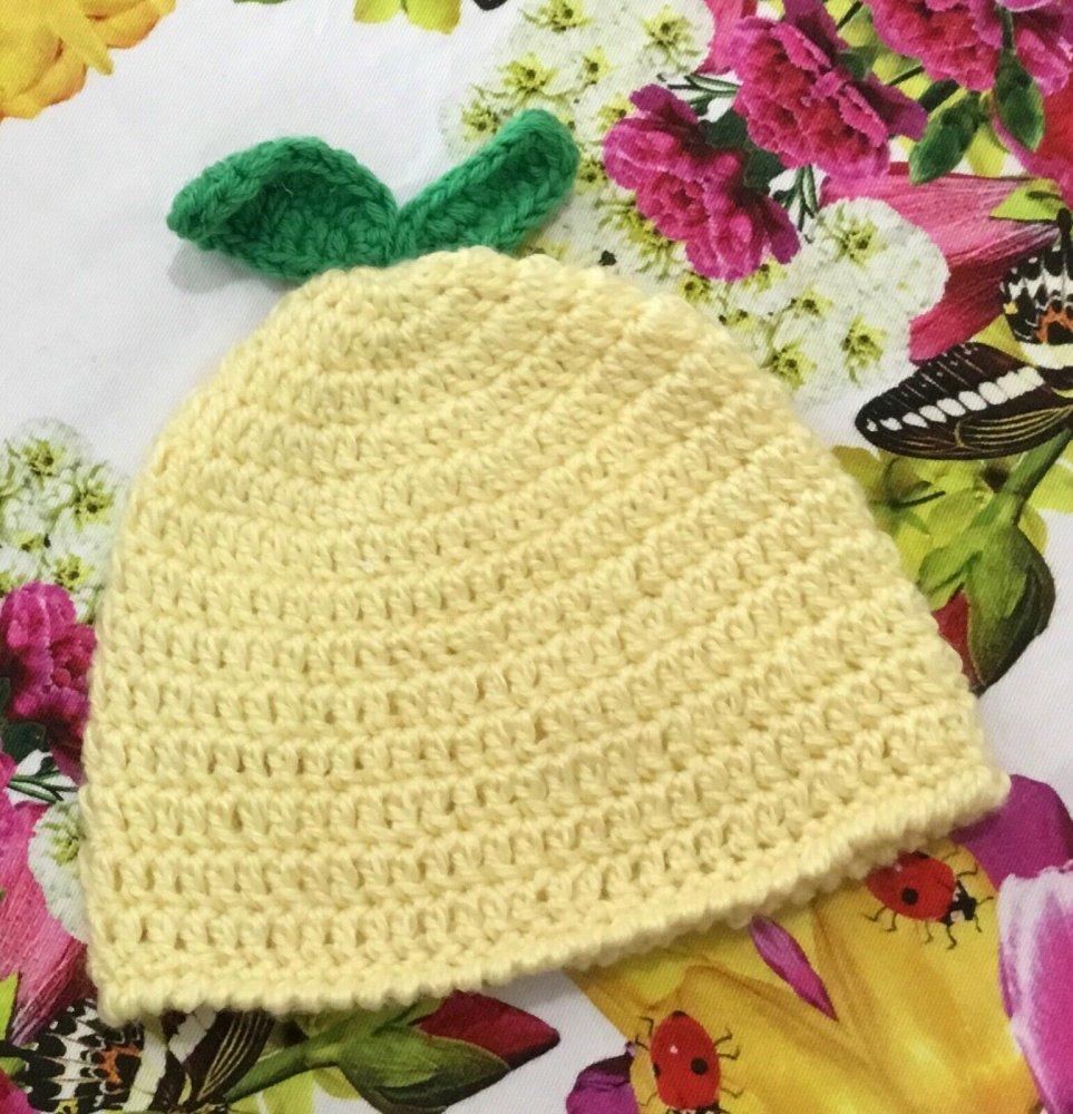 Cappellino baby in  COTONE
