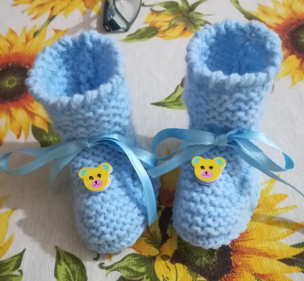 Scarpette baby lana