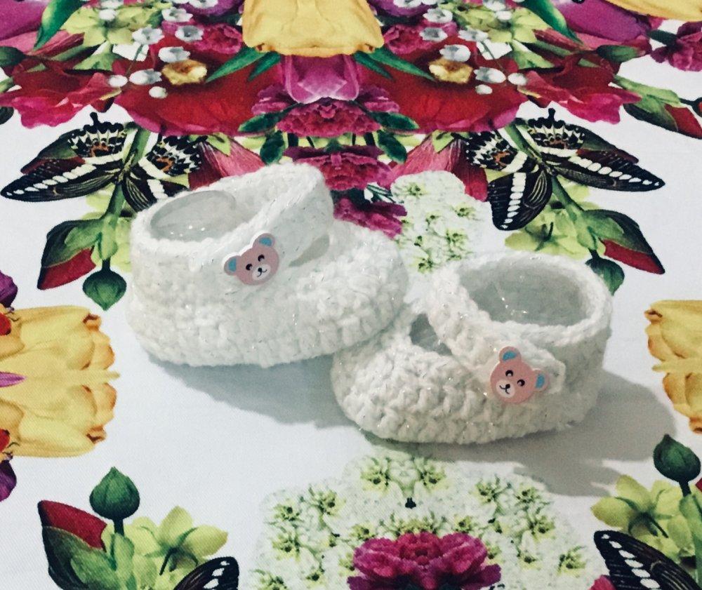 Scarpette uncinetto  crochet lana
