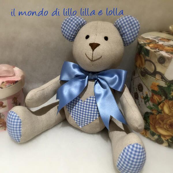 tenero orsetto teddy