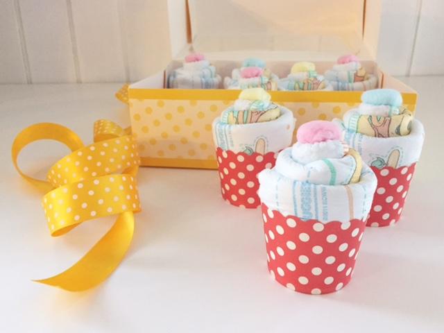 Cupcakes di pannolini