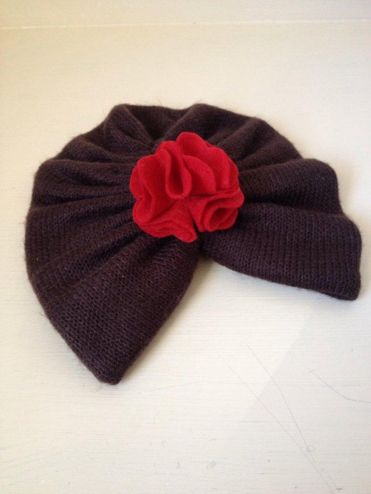 Cappellino turbante per neonata/bambina- accessorio moderno e chic
