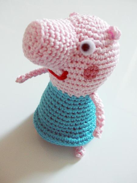 Peppa Pig amigurumi regalo per bambini