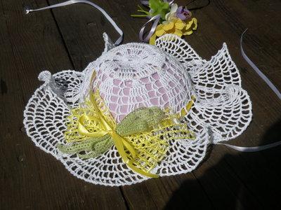cappello bambina cerimonia