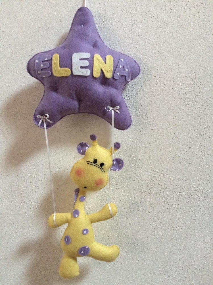 Fiocco nascita giraffa