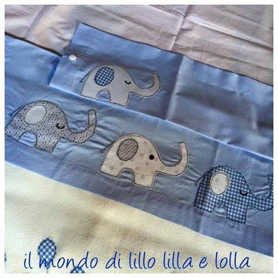 lenzuolino cullino elefanti