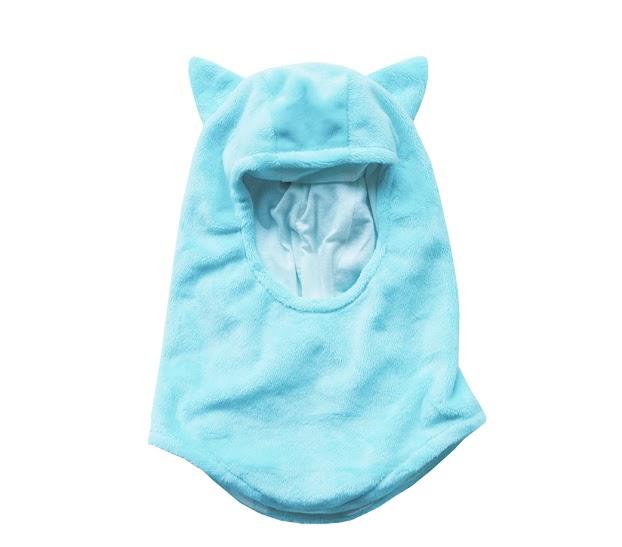 Passamontagna Ghiaccio con orecchie da animaletto - berrettino e sciarpa in uno.