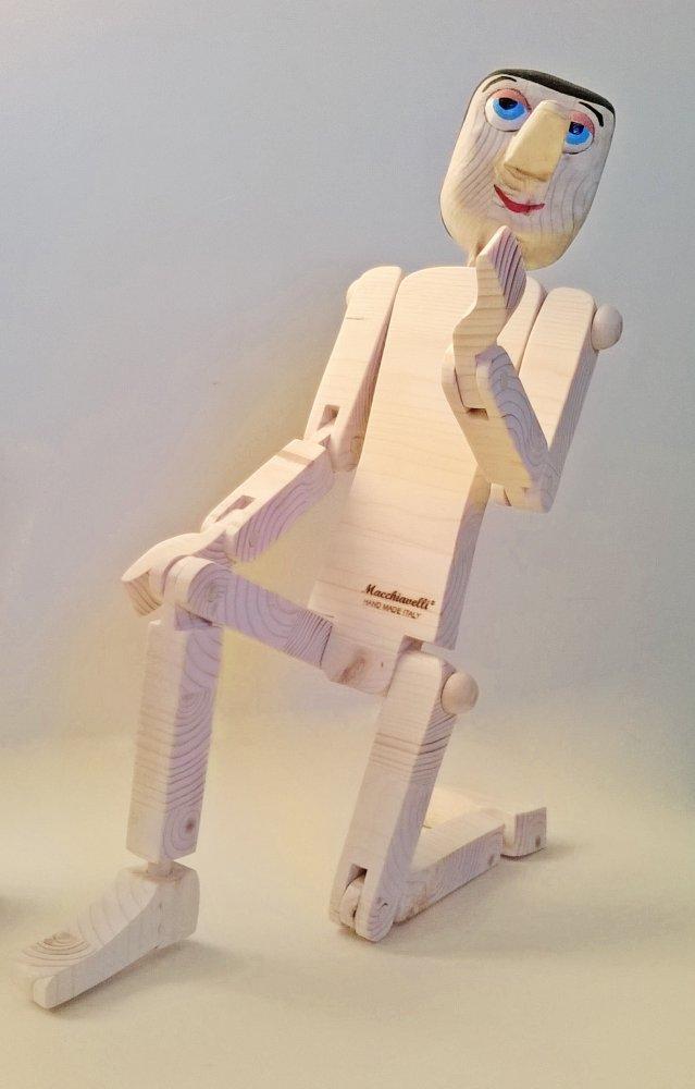 Pinocchio di legno