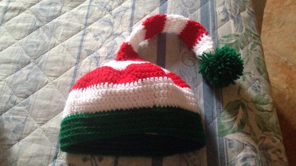 Cappello da elfo uncinetto