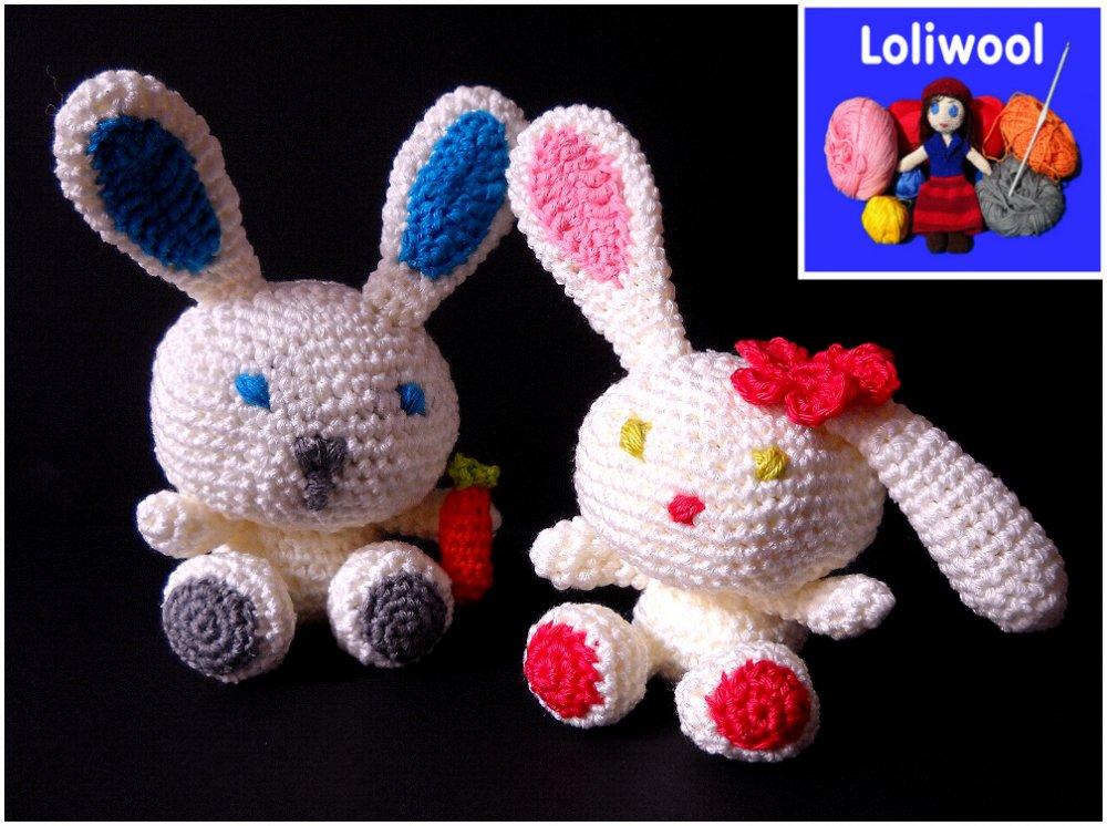 Coniglietto in cotone