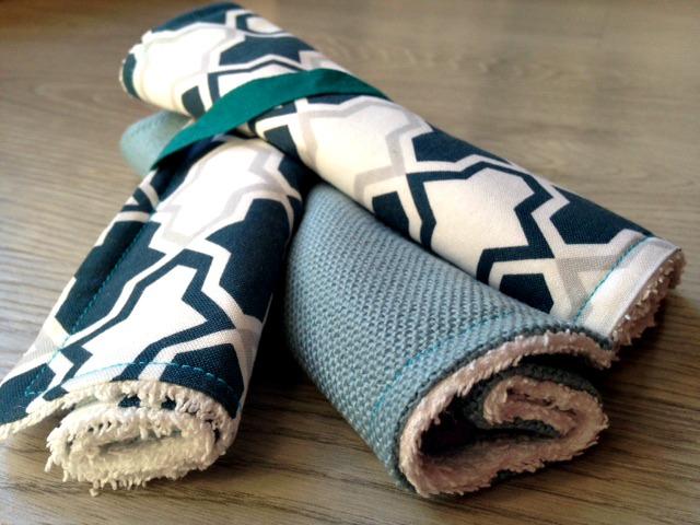 Baby towel, asciugamanini multiuso