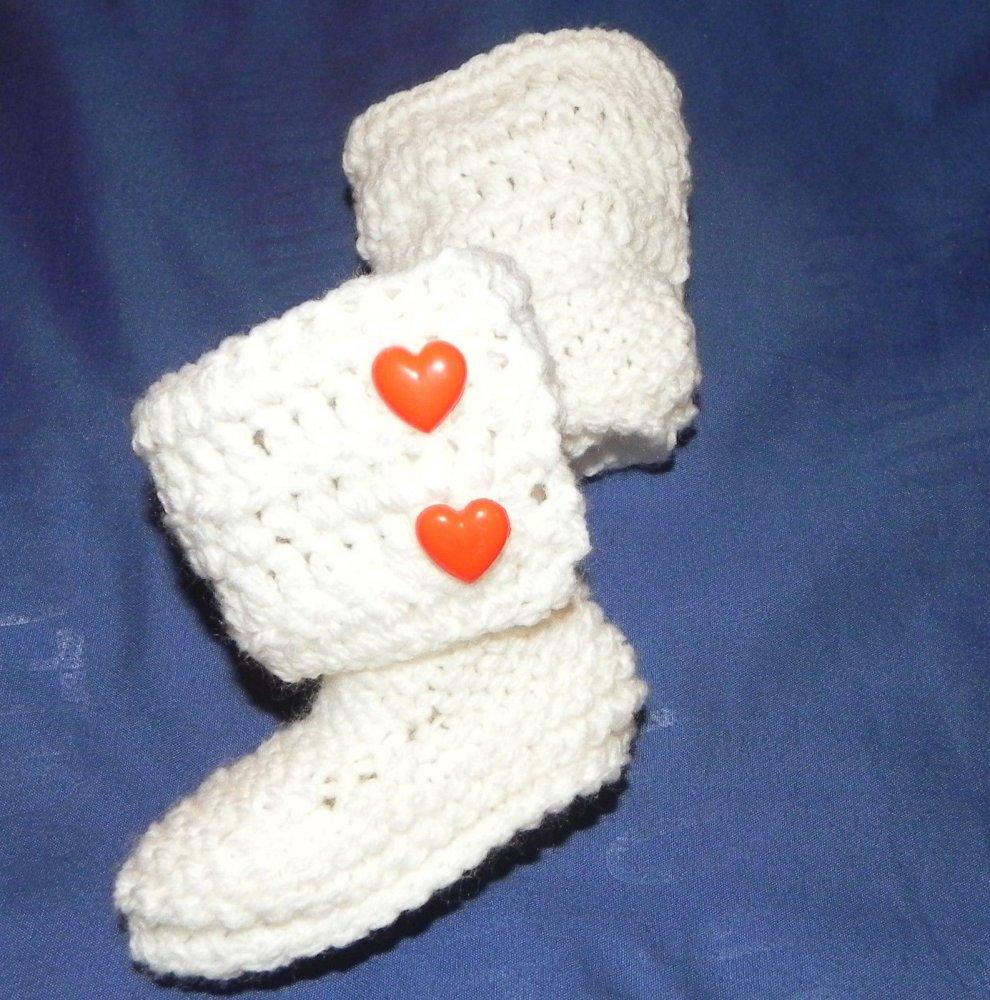 Stivaletti scarpette neonato unisex