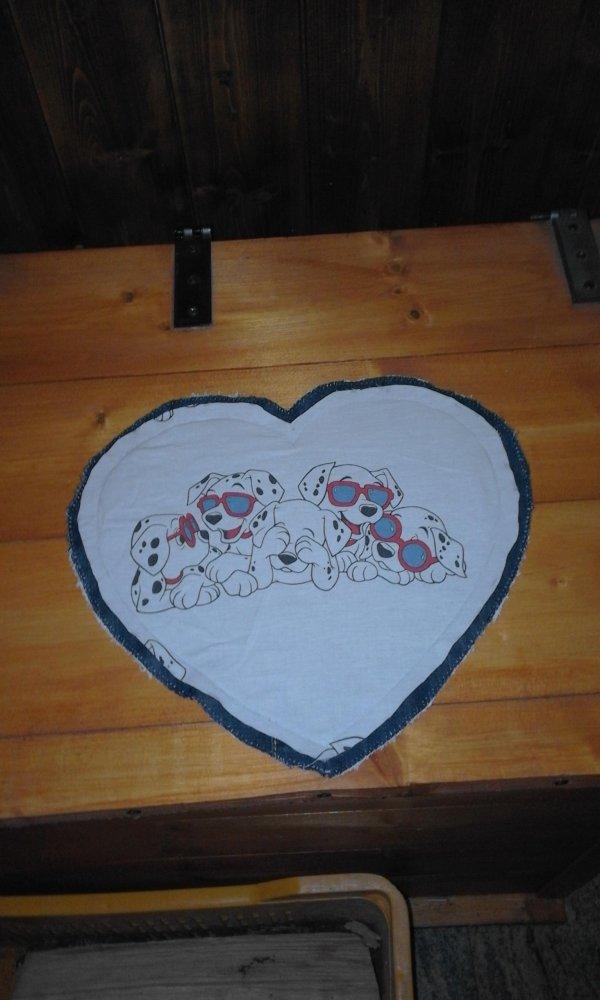 tovaglietta cuore