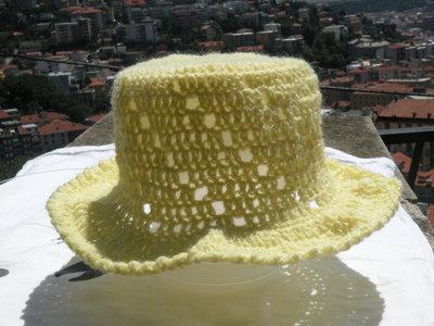 cappello uncinetto bambina