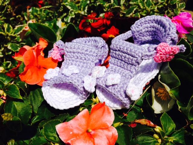 Sandaletto con fiorellini