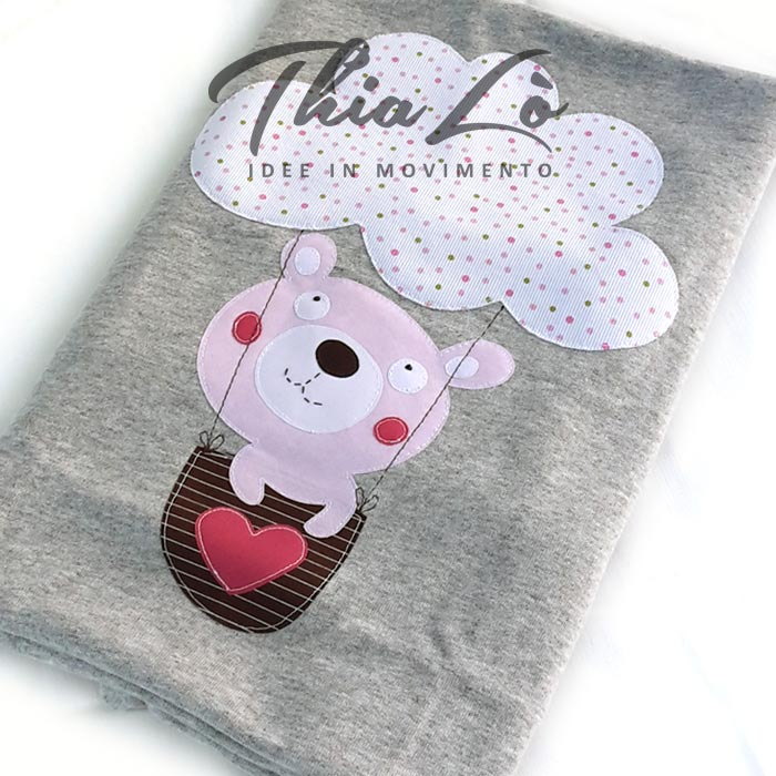 coperta mongolfiera rosa