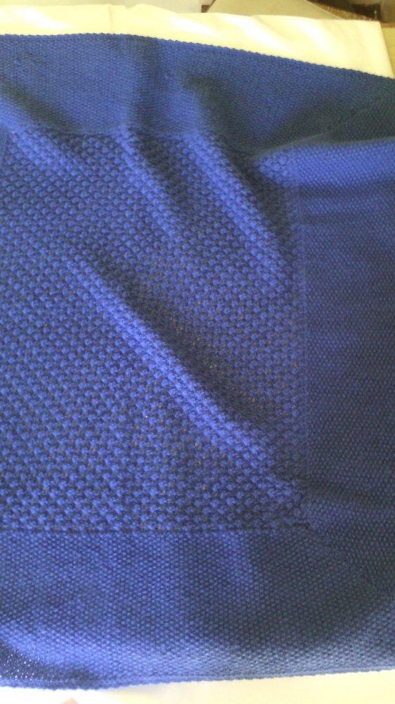copertina culla cashmere maglia
