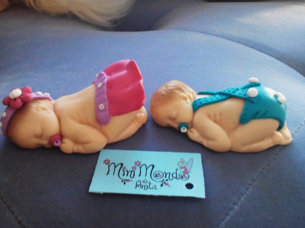 Bimbi neonati creati a mano personalizzati