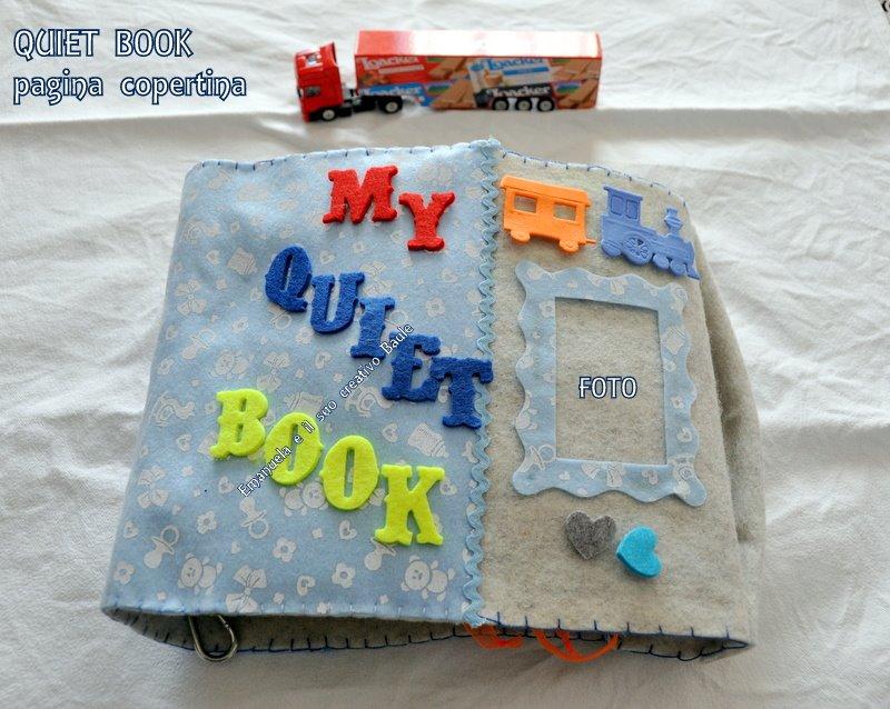 QUIET BOOK AZZURRO