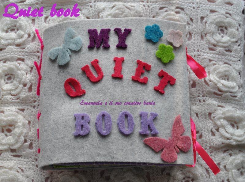 QUIET BOOK ROSA