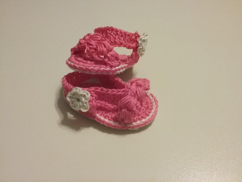 sandali bimba 0/3 mesi
