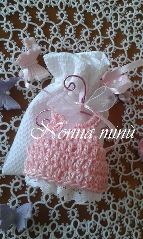 Confettata vestitino crochet