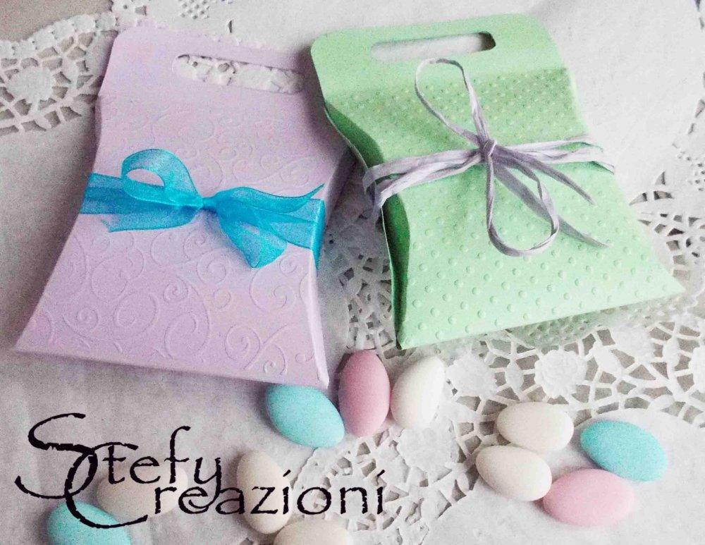 Scatoline Porta Confetti  (Lotto 5 pezzi)