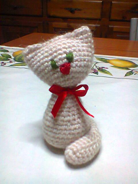 Bomboniera gattino amigurumi