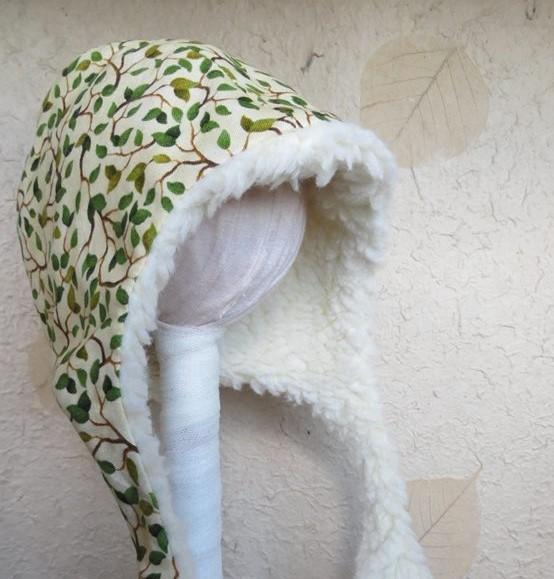 Cuffietta bimbo pelliccetta ecologica