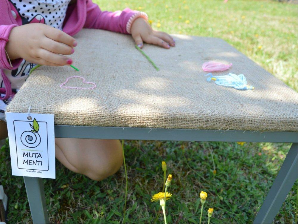 Telaio da ricamo per bambini - linea MUTAMENTI