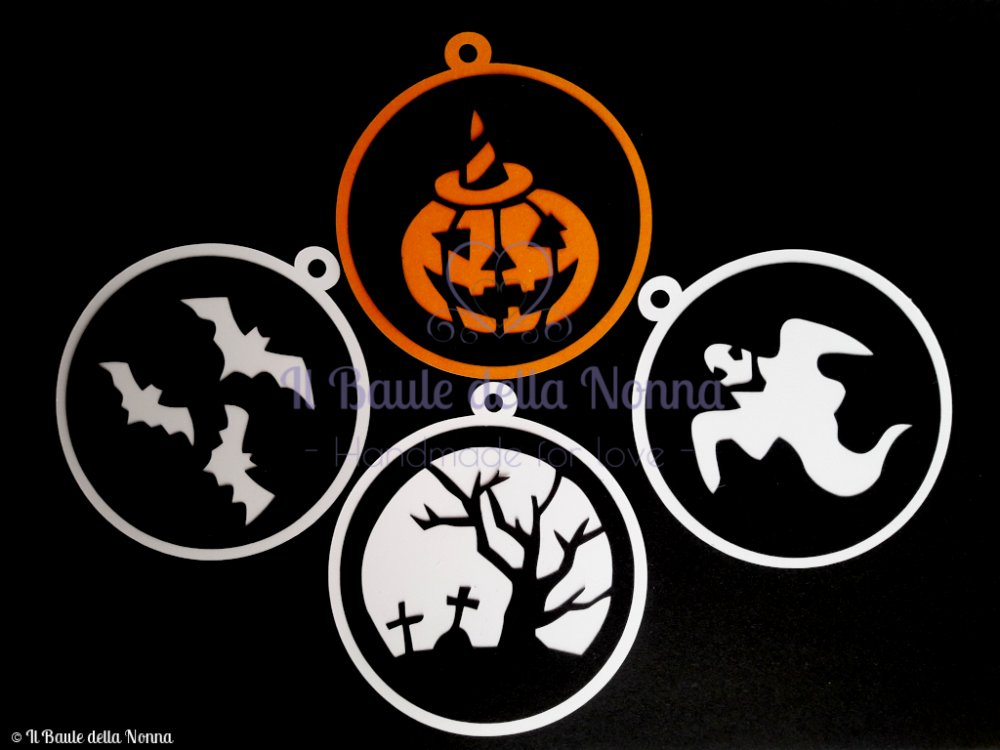SET 4 TAG HALLOWEEN (art. 93)