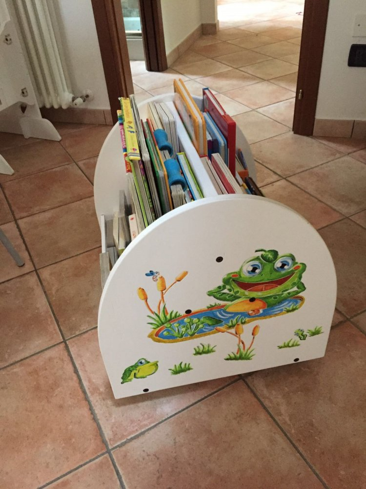 Libreria A Pavimento Stampo Montessoriano
