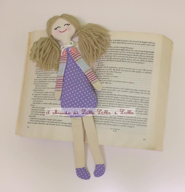 bambola segnalibro