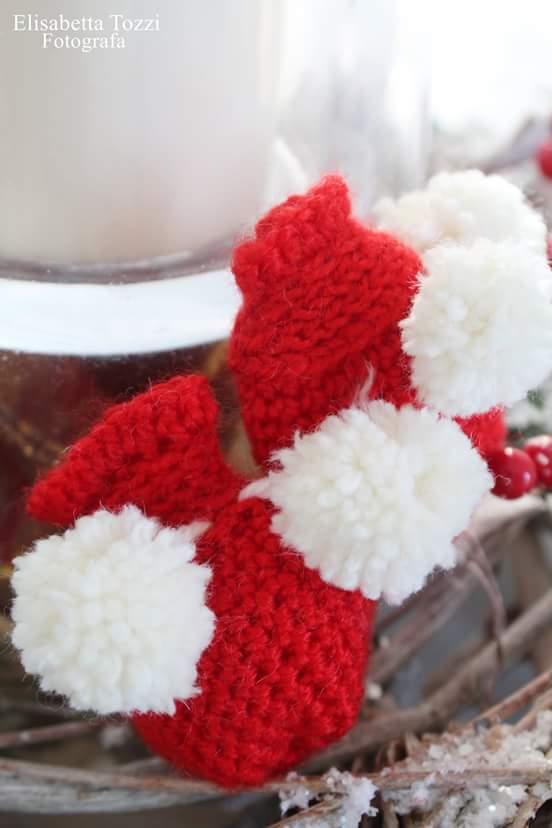 Muffole di lana per neonati