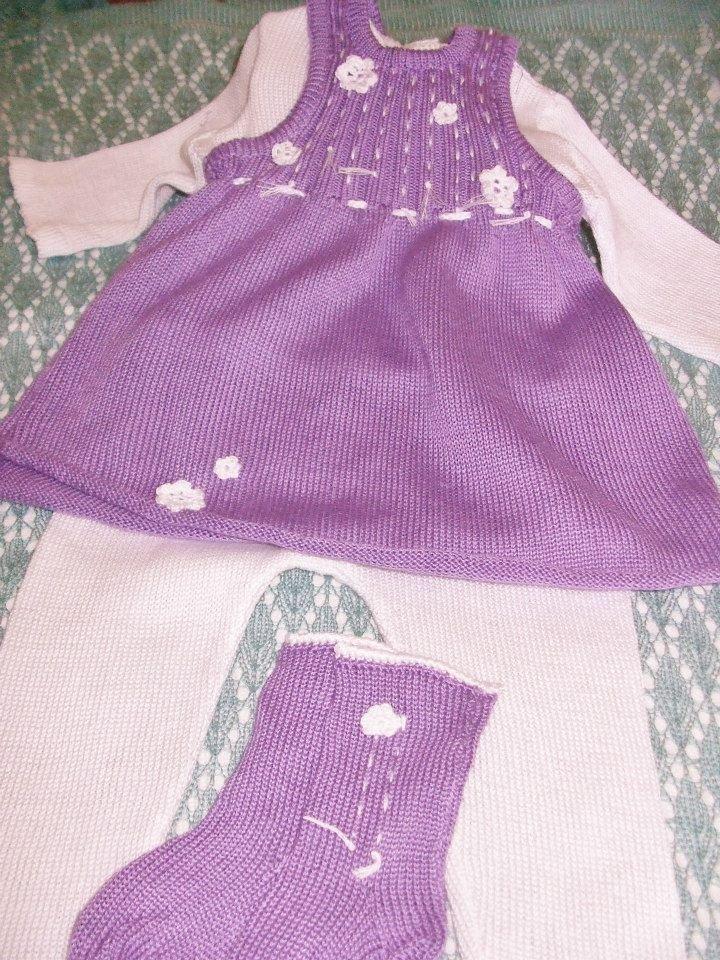 completino bimba cotone maglia