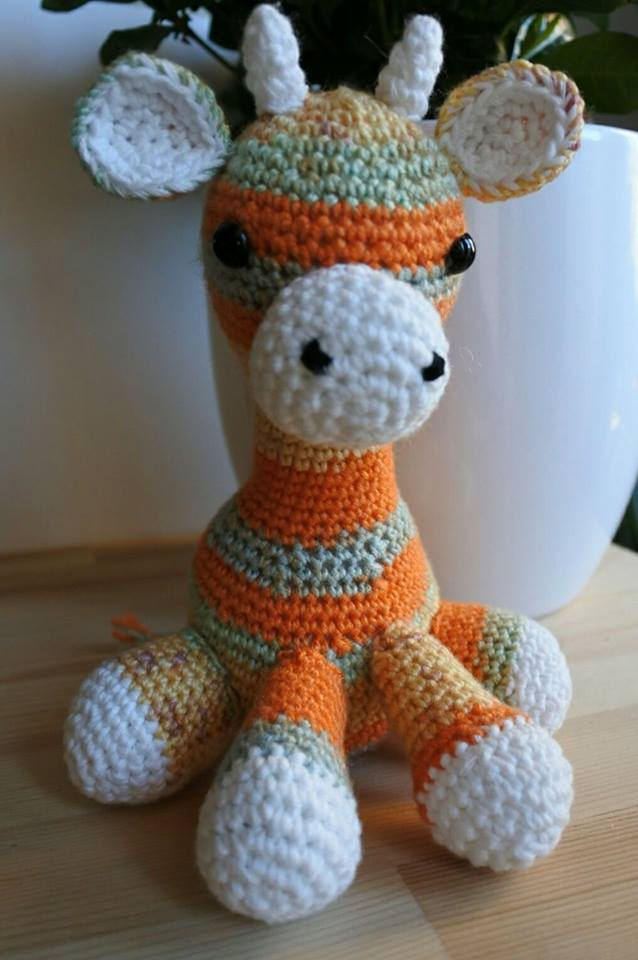 Giraffa Amigurumi